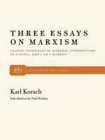 Three Essays on Marxism