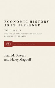 Economic History As It Happened (Vol II): The End of Prosperity