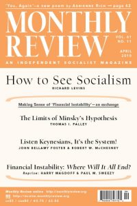 Monthly Review Volume 61, Number 11 (April 2010)