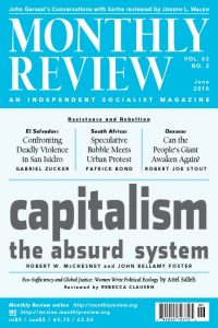 Monthly Review Volume 62, Number 2 (June 2010)