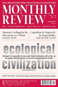Monthly Review Volume 62, Number 8 (January 2011)