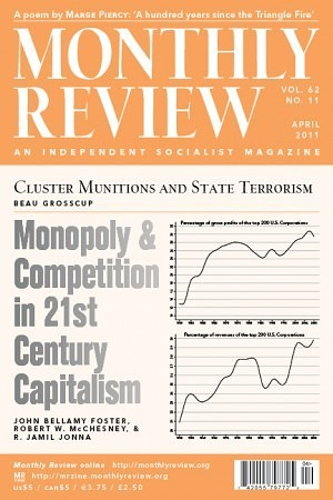 Monthly Review Volume 62, Number 11 (April 2011)