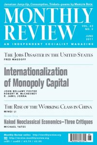 Monthly Review Volume 63, Number 2 (June 2011)