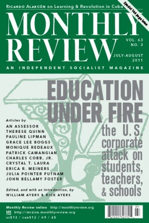 Monthly Review Volume 63, Number 3 (July-August 2011)
