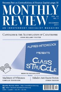 Monthly Review Volume 63, Number 7 (December 2011) 1