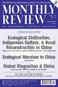 Monthly Review Volume 63, Number 9 (February 2012) 1