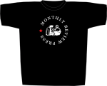Monthly Review Press T-shirt v2 (front)