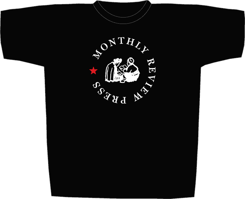 Monthly Review Press T-Shirt v2: front