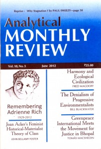 Analytical Monthly Review