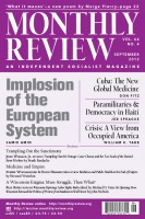 Monthly Review Volume 64, Number 4 (September 2012)