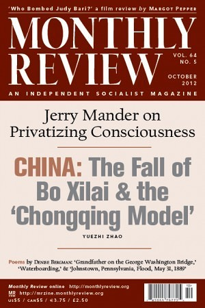 Monthly Review Volume 64, Number 5 (October 2012)