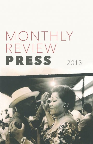 2013 Monthly Review Press Catalog