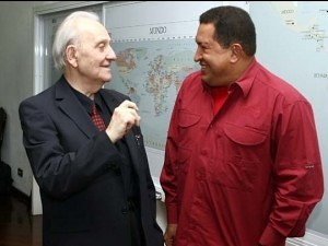 István Mészáros and Hugo Chávez