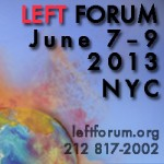 Monthly Review at the Left Forum, New York City, June 7 to 9