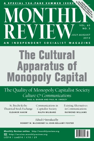 Monthly Review Volume 65, Number 2 (June 2013)