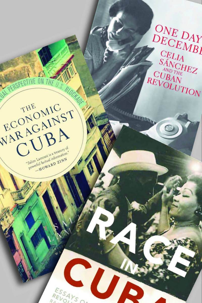 Three MRP Books on Cuba