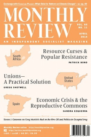Monthly Review Volume 65, Number 11 (April 2014)