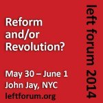 Monthly Review at the Left Forum: NYC, May 30 to June 1