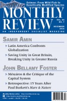 Monthly Review Volume 66, Number 7 (December 2014)
