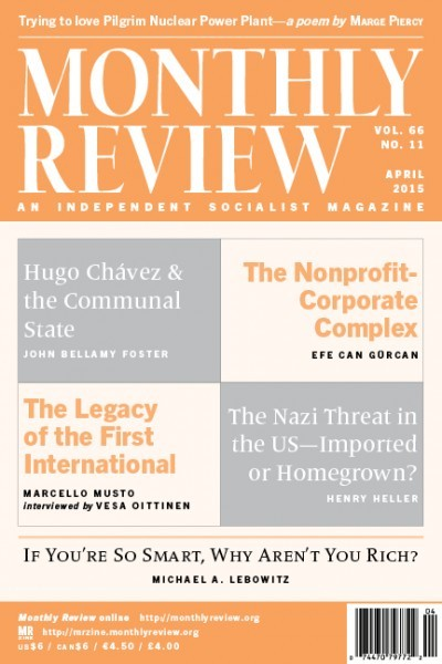 Monthly Review Volume 66, Number 11 (April 2015)