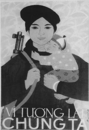 Vietnamese Vietnam War Poster.