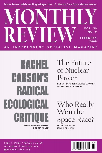 Monthly Review Volume 59, Number 9 (February 2008) [PDF]