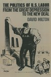 The Politics of U.S. Labor: From the Great Depression to the New Deal