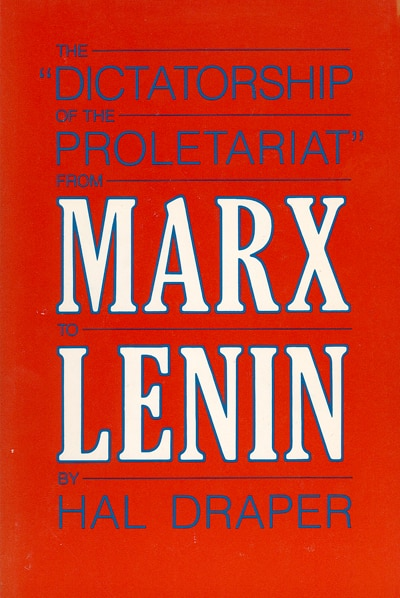 "Image result for The ""dictatorship of the proletariat"" from Marx to Lenin ("