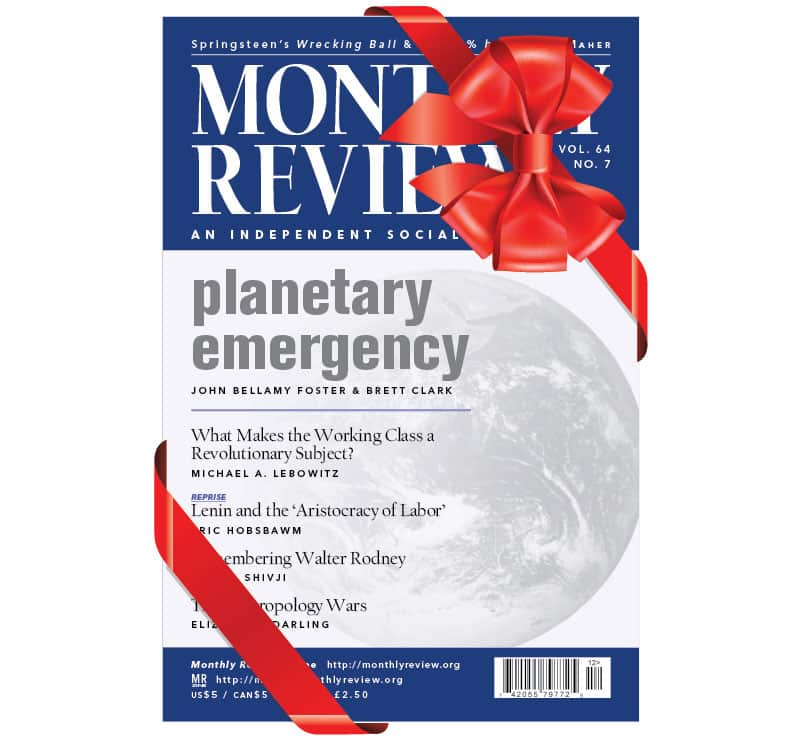 Monthly Review Gift Subscription