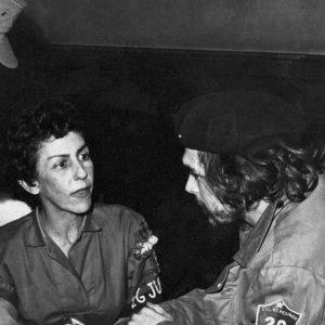 Celia Sánchez with Che Guevara