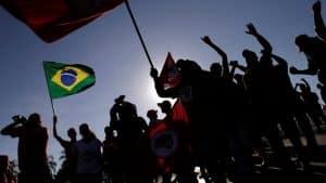 PT Party Protest Against Rousseff's Impeachment