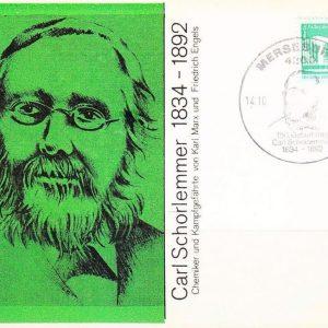 Carl Schorlemmer Postcard