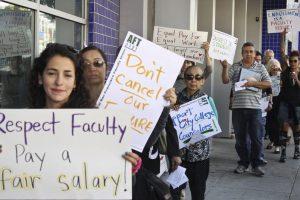 City College of San Francisco Teachers Protest
