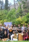Women songwriters' workshop participants