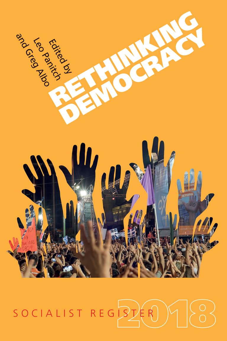 Rethinking Democracy: Socialist Register 2018