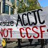March to save City College San Francisco (CCSF)