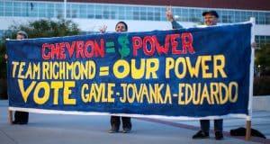 City Council members Gayle McLaughlin, Jovanka Beckles and Eduardo Martinez are all members of the anti-Chevron Richmond Progressive Alliance