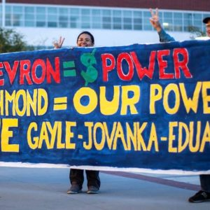 City Council members Gayle McLaughlin, Jovanka Beckles and Eduardo Martinez are all members of the anti-Chevron Richmond Progressive Alliance