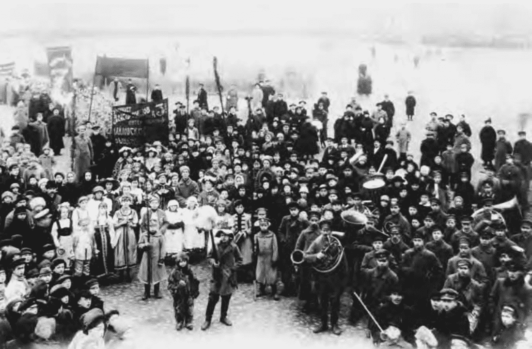 an introduction to the october revolution the peoples revolution Soviet councils claimed to be true representatives of the people  in the russian  revolution of 1917, the bolsheviks revolutionary leadership was vladamir.