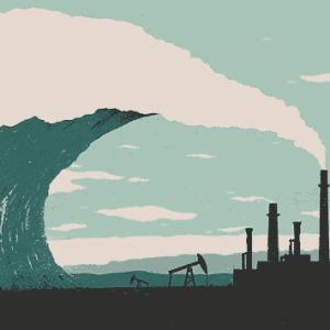 Climate change tidal wave