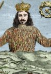 Detail from cover of Leviathan by Thomas Hobbes