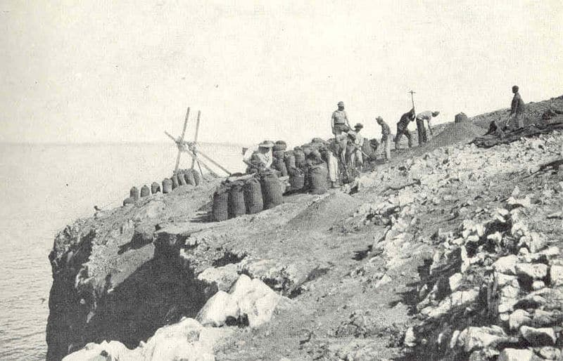Guano Mining North West Island