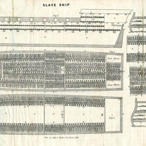 Slave ship diagram