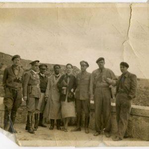 Members of the American Brigade, Spain, 1937