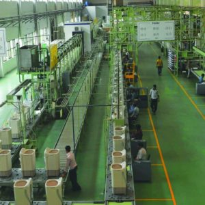 Inside a Haier Pakistan factory
