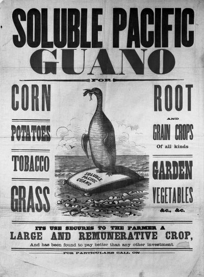 Soluble Pacific Guano, 1857-83