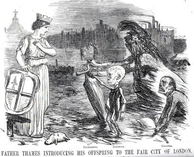 Comic from Punch, July 3, 1858