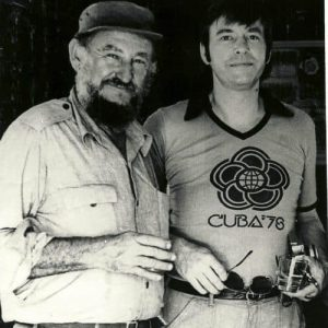 FROM THE MICHAEL TIGAR PAPERS: Tigar (right) with Ramón Castro, 1978