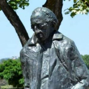 Statue of György Lukács
