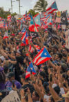 After a month of nonstop developments, protests have continued in the island